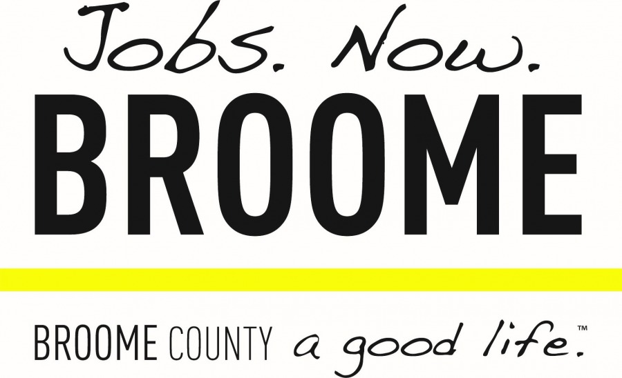 There are no jobs in Broome County? We beg to differ.